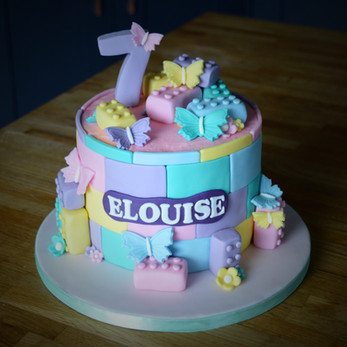 Lego Friends Birthday Cake | Kingfisher Bakery, Wiltshire, UK