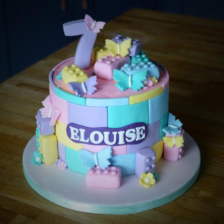 Lego Friends Birthday Cake | Kingfisher Bakery, Wiltshire, UK