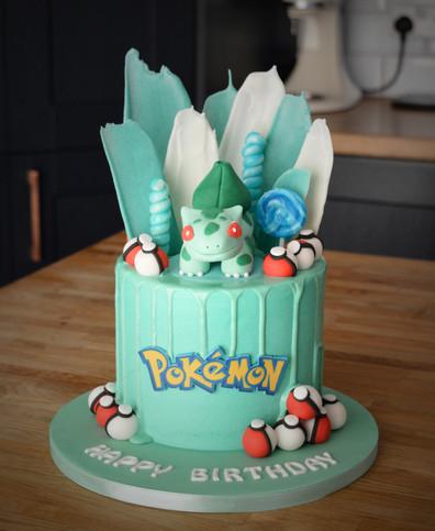 Bulbasaur Birthday Cake | Kingfisher Bakery, Wiltshire, UK