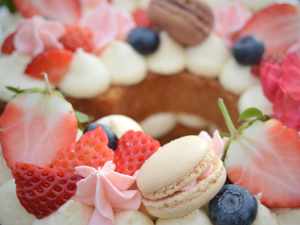 Number Cakes | Kingfisher Bakery | Trowbridge