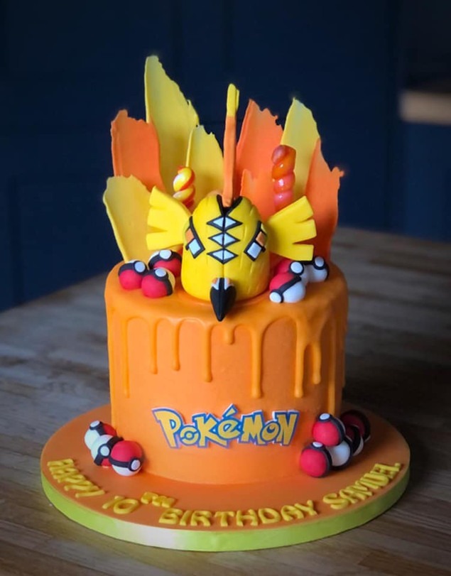 Tapu Koko Birthday Cake | Kingfisher Bakery, Wiltshire, UK