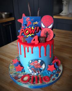 Spiderman Birthday Cake | Kingfisher Bakery, Wiltshire, UK