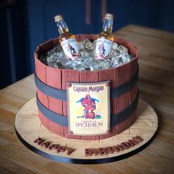 Spiced Rum Ice Cake