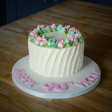 Mini Birthday Cake | Kingfisher Bakery, Wiltshire, UK