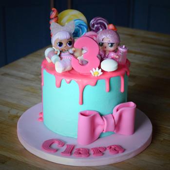 LOL Surprise Cake | Kingfisher Bakery, Wiltshire, UK
