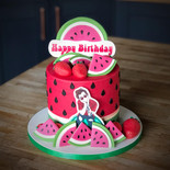 Harry Styles / Watermelon Sugar Cake | Kingfisher Bakery, Wiltshire, UK