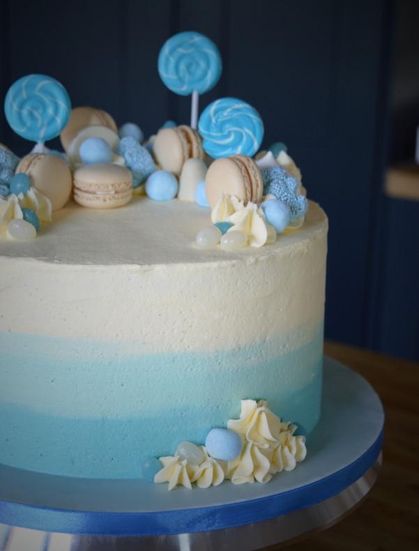 Christening Cake | Kingfisher Bakery, Wiltshire, UK