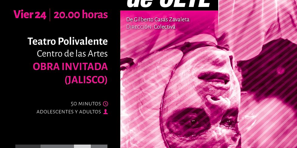 LAS LAGAÑAS DE OETL, Una puesta en escena absurda, trágica y musical