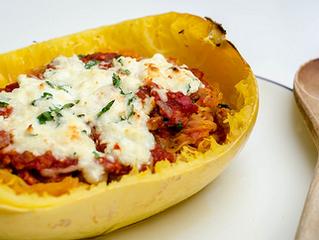 Healthy Broccolini Lasagna Made From Spaghetti Squash