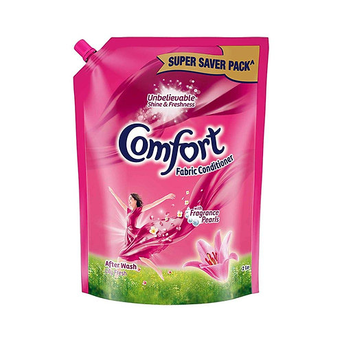 Comfort After Wash Fabric Conditioner Pouch, 2L