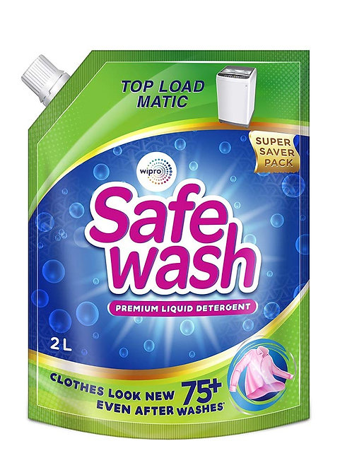 Safewash Matic Liquid Detergent Top Load 2L