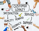 Group of People and Customer Loyalty Con