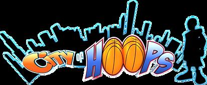 City of hoops Logo
