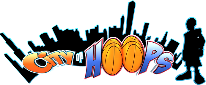 City of hoops Logo