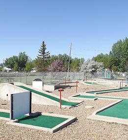 Kinette Mini Golf Course
