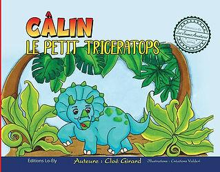 Câlin le petit tricératops