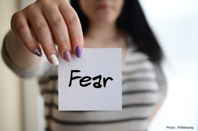 Fear- the Thief that Steals Your Future