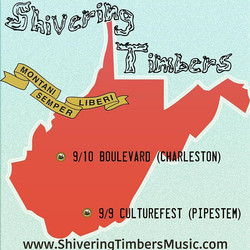 Two shows this weekend in WV!  #culturefest  #boulevardtavern