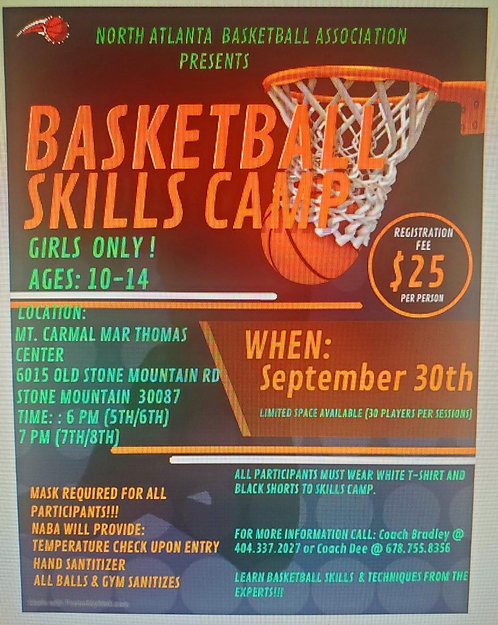 Basketball Skill Camp