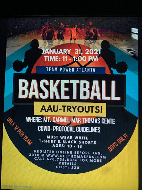 AAU TRYOUT
