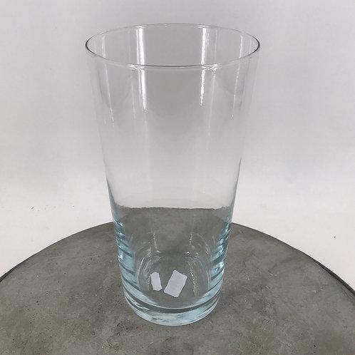 Glasvase konisch 15,5x29 cm