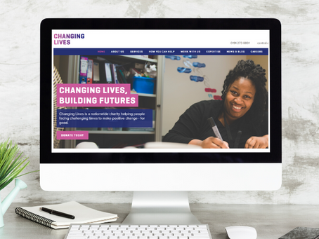 Changing Lives - national charity website