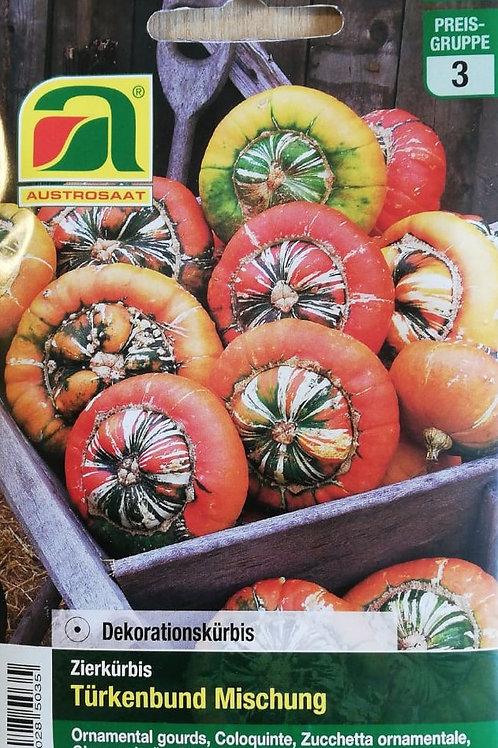 Zierkürbis, Türkenbund Mischung - Samen