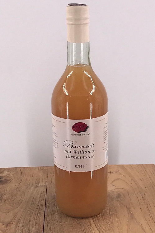 Birnensaft mit Williams-Birnenmark 0,74l