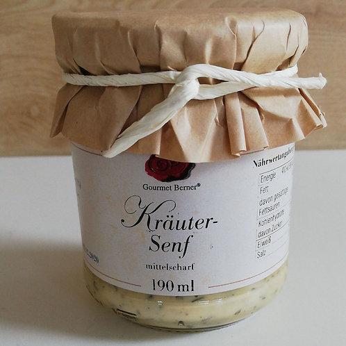 Kräuter Senf 190g