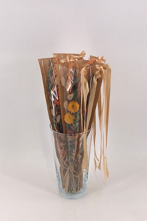 Trockenblumen gem. im Tüte Lachs/natur