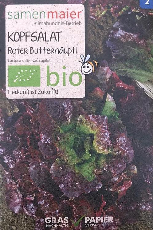 """Kopfsalat """"Roter Butterhäuptl"""""""