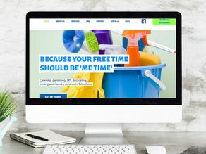 Handy Helpers - sole trader website