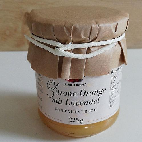 Zitrone Orange mit Lavendel 225g
