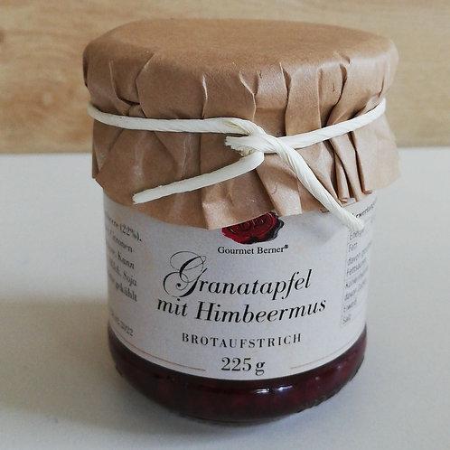 Granatapfel mit Himbeermus 225g