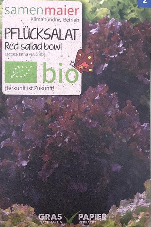 """Pflücksalat """"Red Salad Bowl"""""""