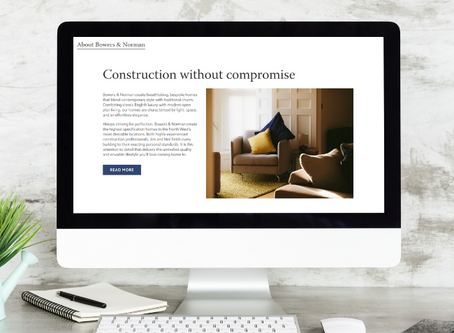 Bowers & Norman - construction company website