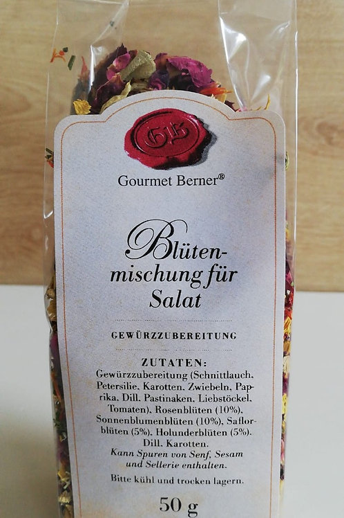 Blütenmischung für Salat