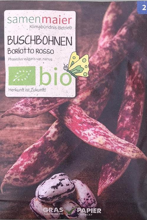 "Buschbohnen ""Boriotto Rosso"""