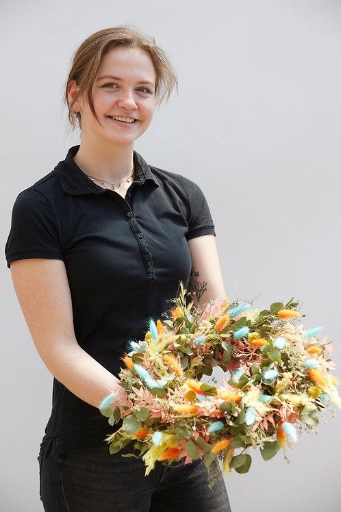 Herbstlicher Türschmuck - Workshop
