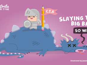 How to write a call-to-action: slaying the big bad 'so what?'