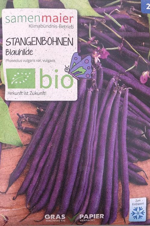 """Stangenbohnen """"Blauhilde"""""""