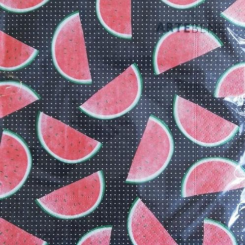 Servietten Melone