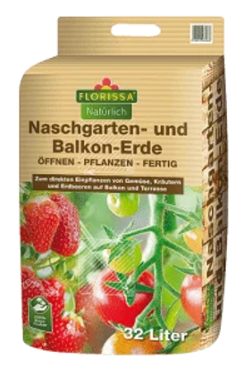 Naschgarten- und Balkonerde