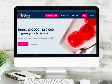 Transmit Growth Loans - financial services website