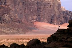 Overlooking Wadi Rum