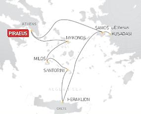 7-day Greece & Turkey Cruise