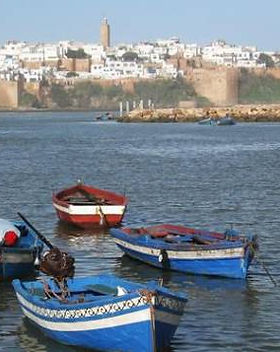 Kasbah of the Udayas in Rabat, Morocco.j