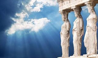 Kariatides of Athens