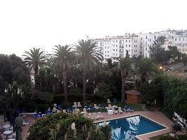Tangier hotel garden