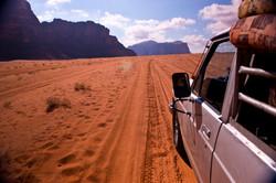 Wadi Rum jeep ride